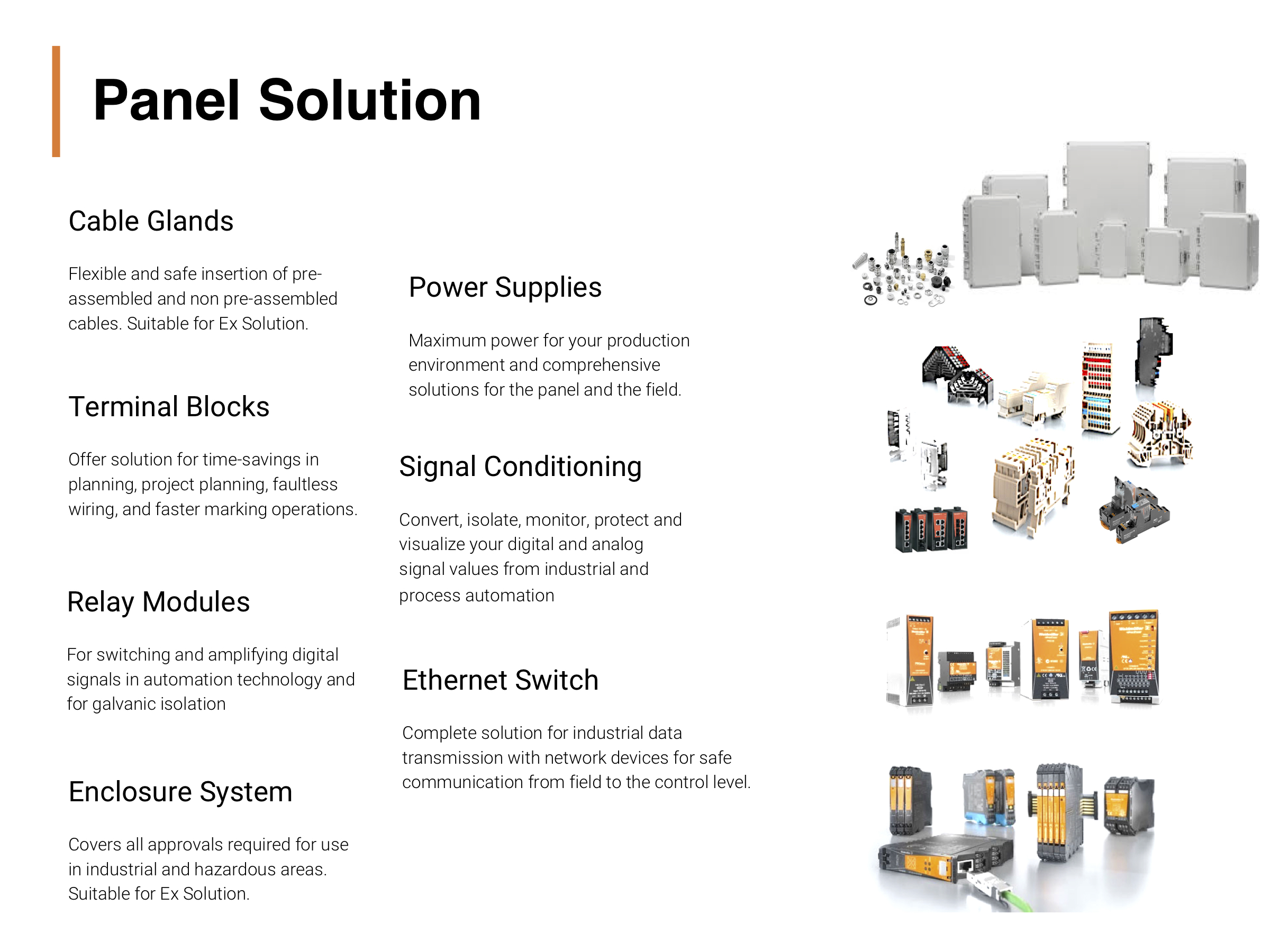 paddi have weidmuller panel solution product