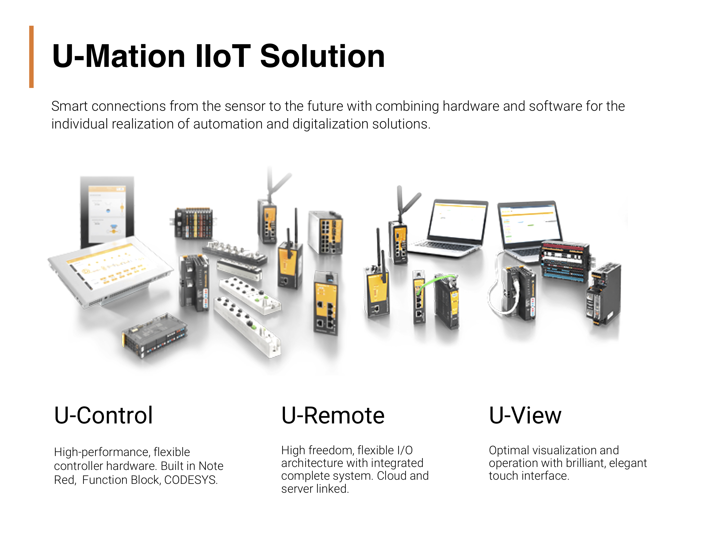 PADDI persents Weidmuller U-mation IIoT solution products